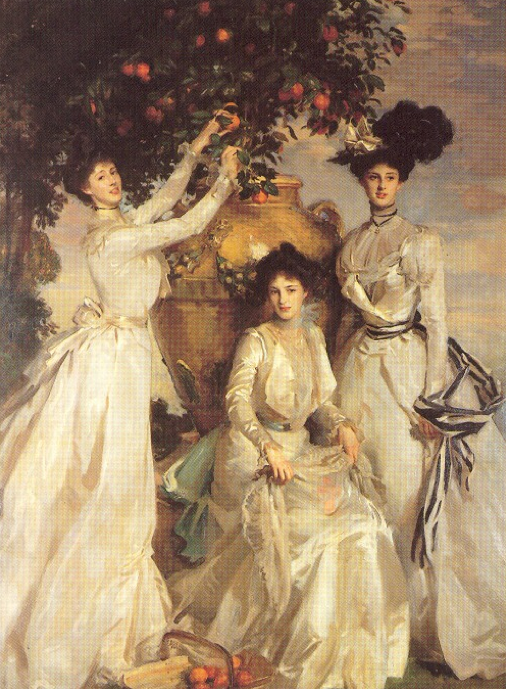 The Proper Lady At Stepford Wives Organization (painting: The Acheson Sisters by John Singer Sargent